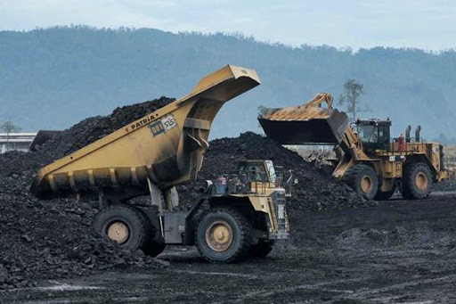 Loading batu bara