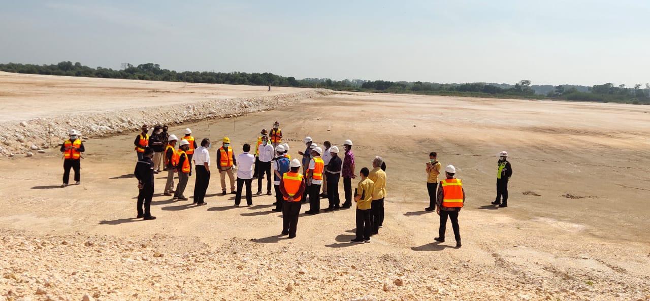 Menteri ESDM Tinjau pembangunan smelter milik PT Freeport