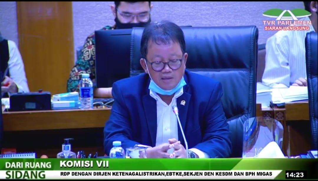 RDP Komisi VII DPR dengan Eselon I Kementerian ESDM ditunda