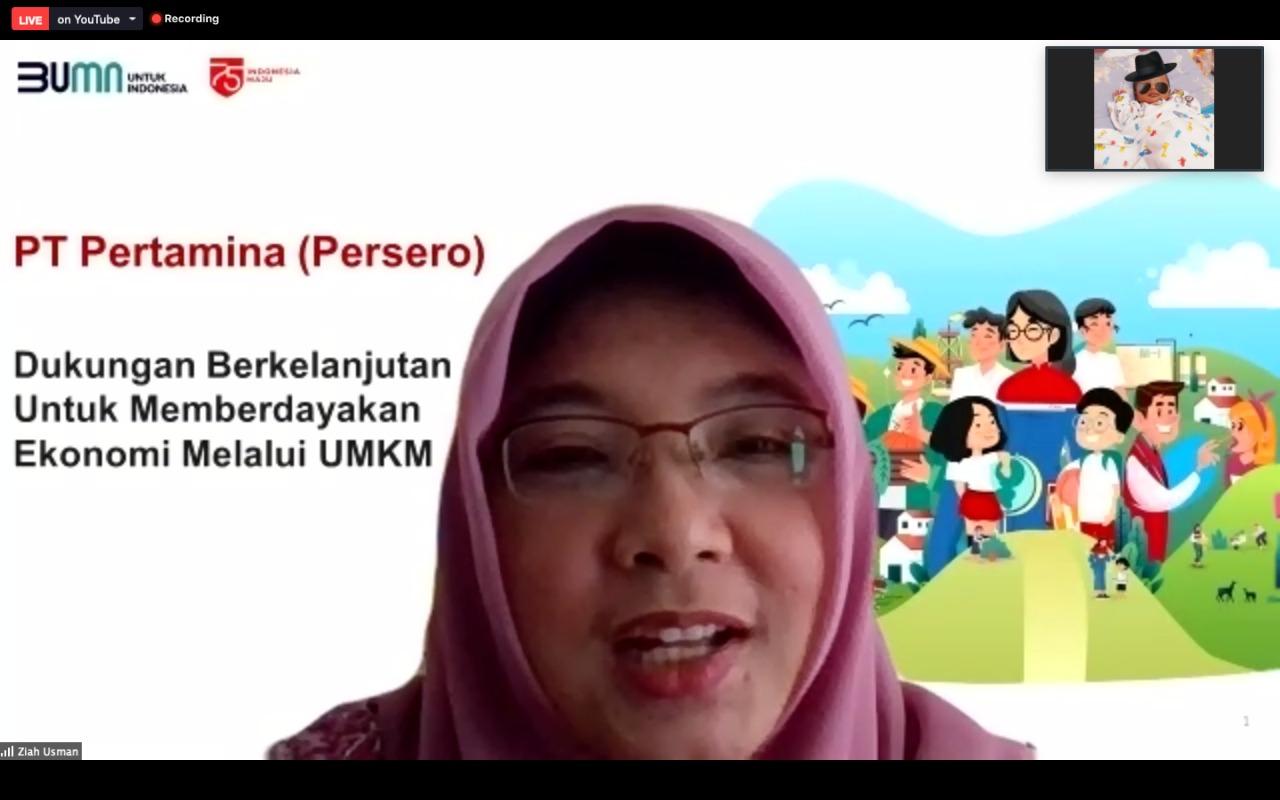 Vp President Pertamina Fajriyah Usman