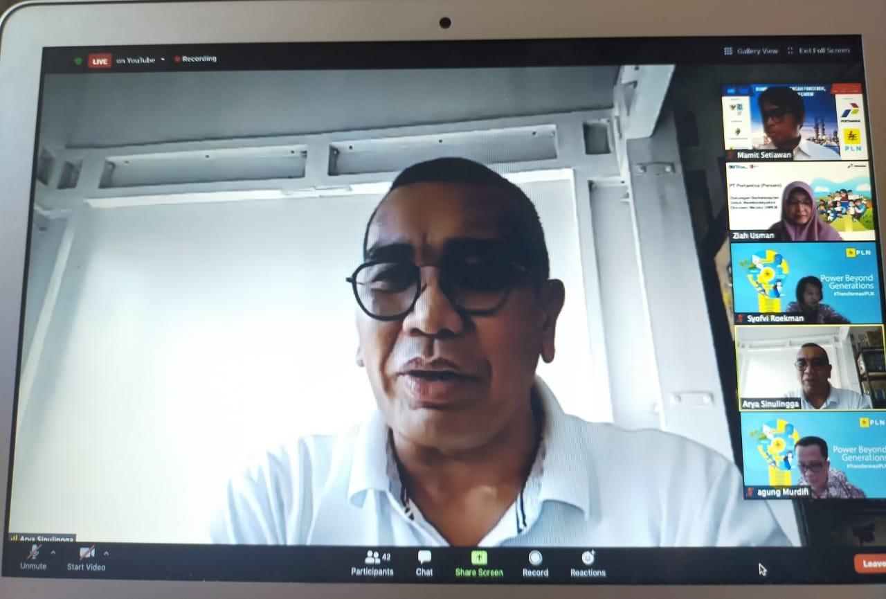 Staff Khusus Menteri BUMN Arya Sinulingga