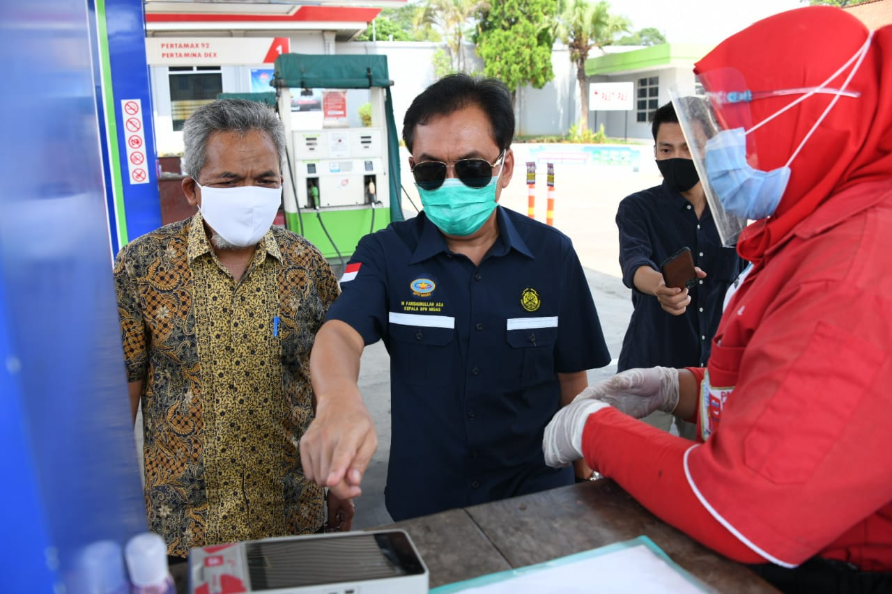 Kepala BPH Migas Fansrullah Asa