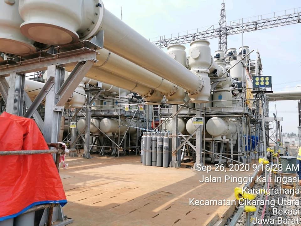 bentangan pipa gas jsp