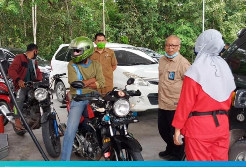 BPH Migas Cek Digitalisasi Nozzel di Riau