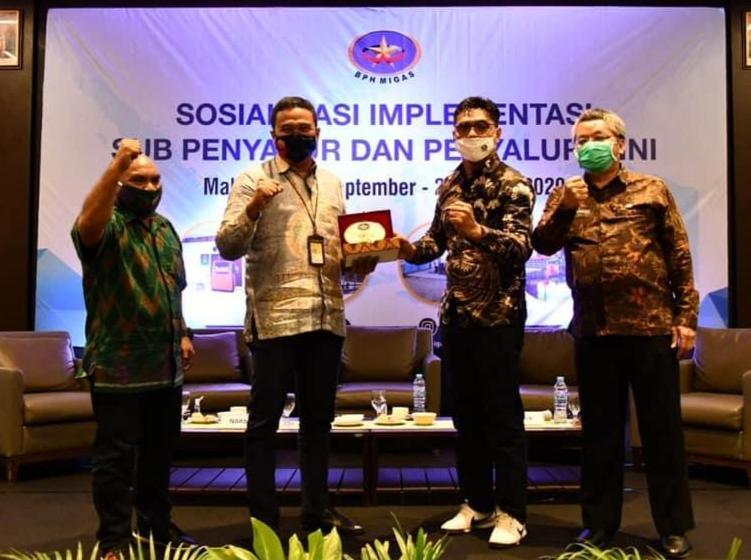 BPH Migas, sosialisasi implementasi penyaluran bbm