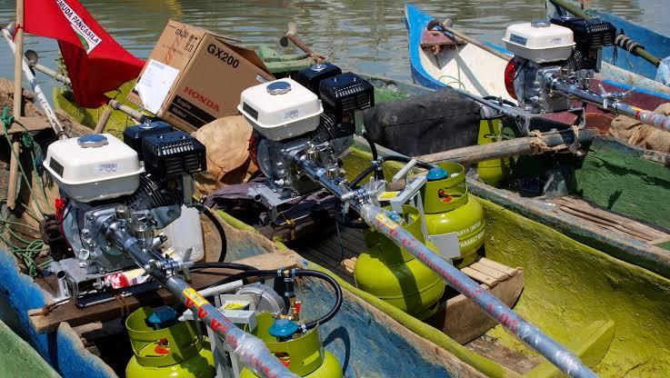 Paket Konversi BBM ke BBG untuk Nelayan