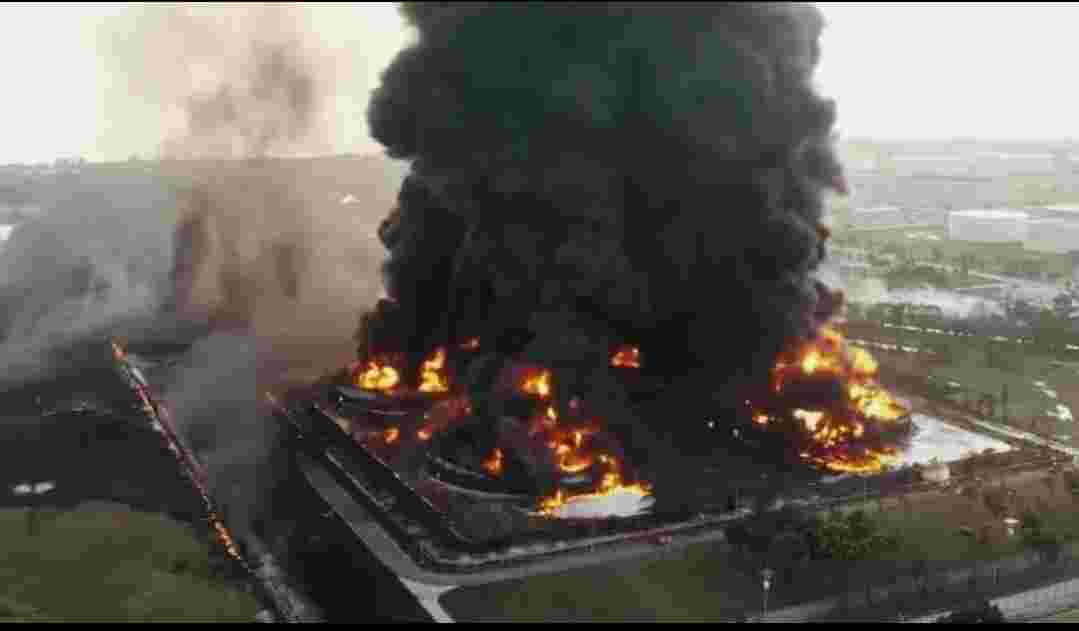 Insiden Kebakaran Kilang Balongan