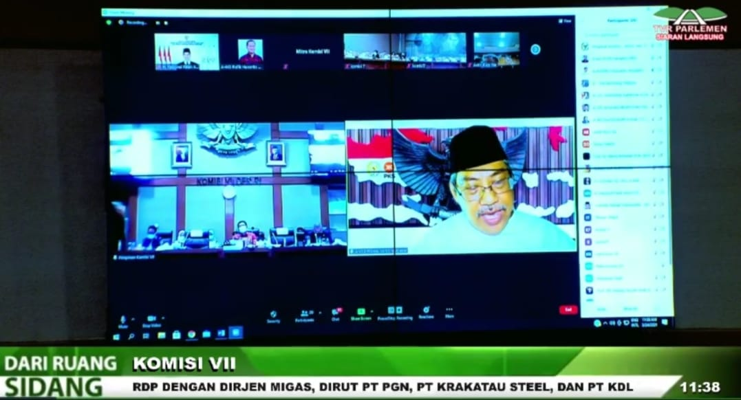 Anngota Komisi VII DPR Mulyanto