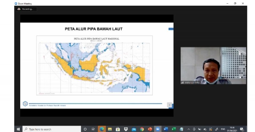 Ditjen Migas Gelar Workshop Database Pipa Bawa Laut