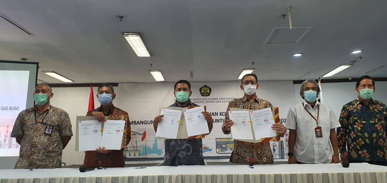 Penandatanganan Pembangunan Jargas Tahap III