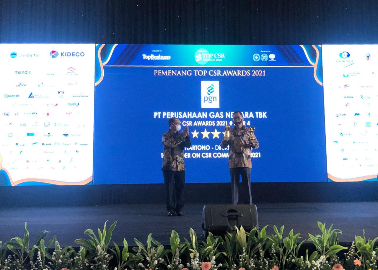 PGN raih penghargaan CSR