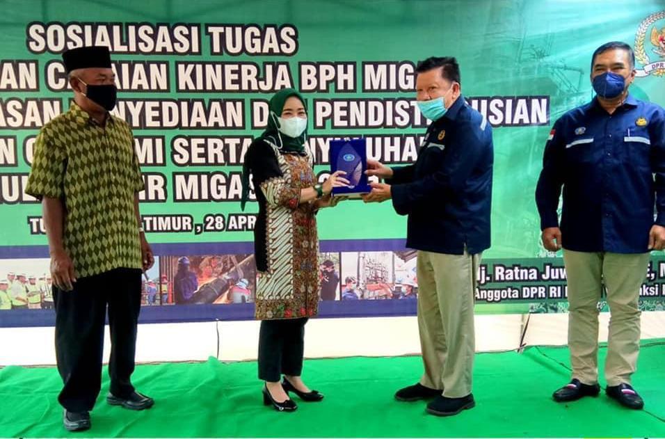 Anggota Komisi VII DPR, Ratna Juwita Sari