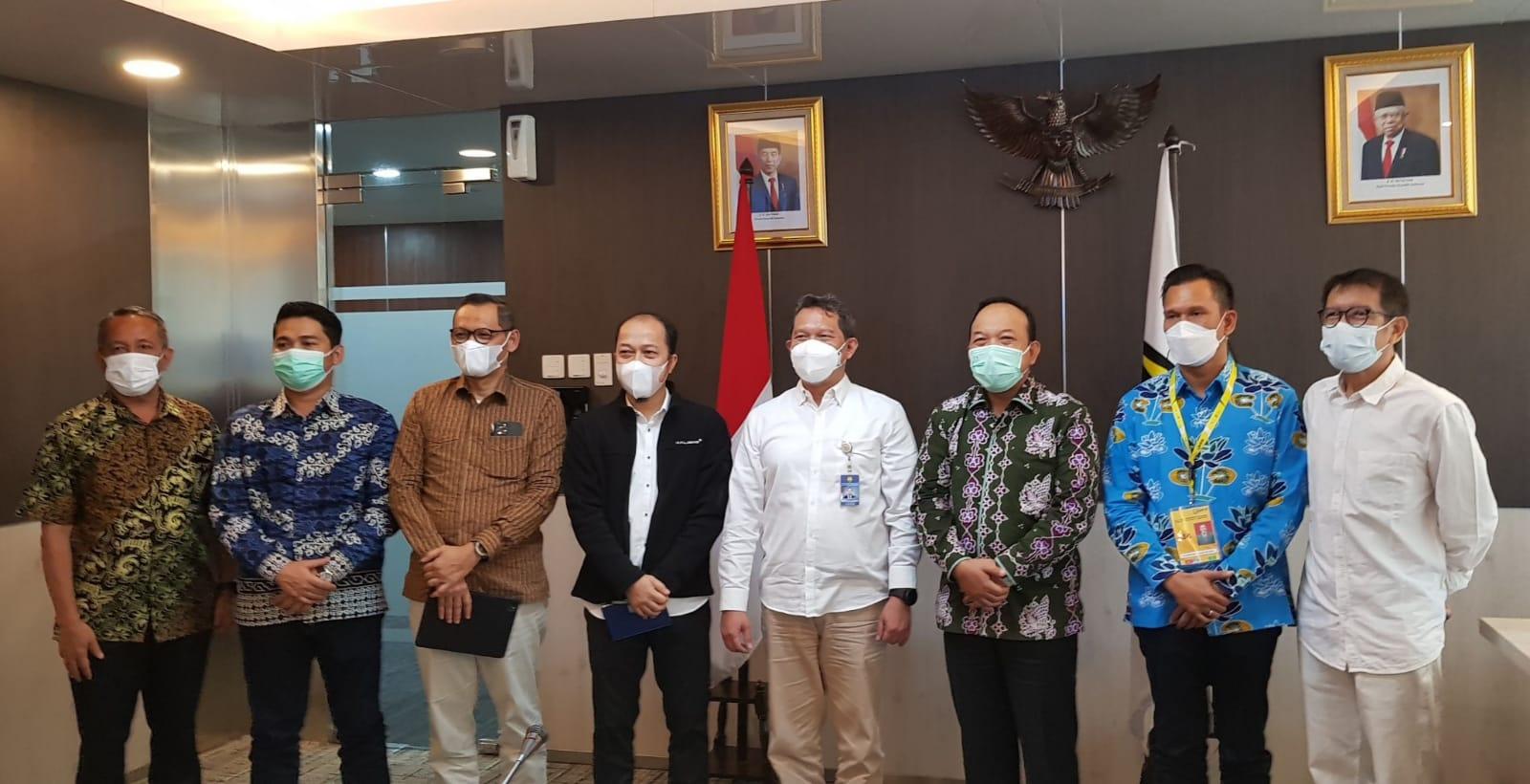 Kunjungan Pemprov Riau