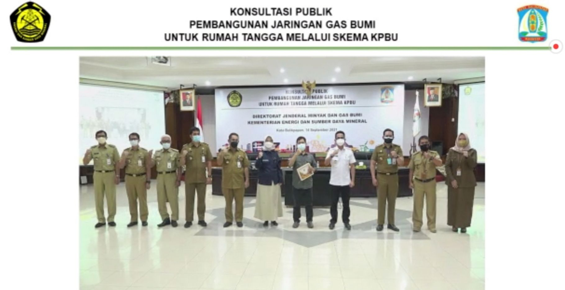 Pemkot Balikpapan, Kalimantan Timur