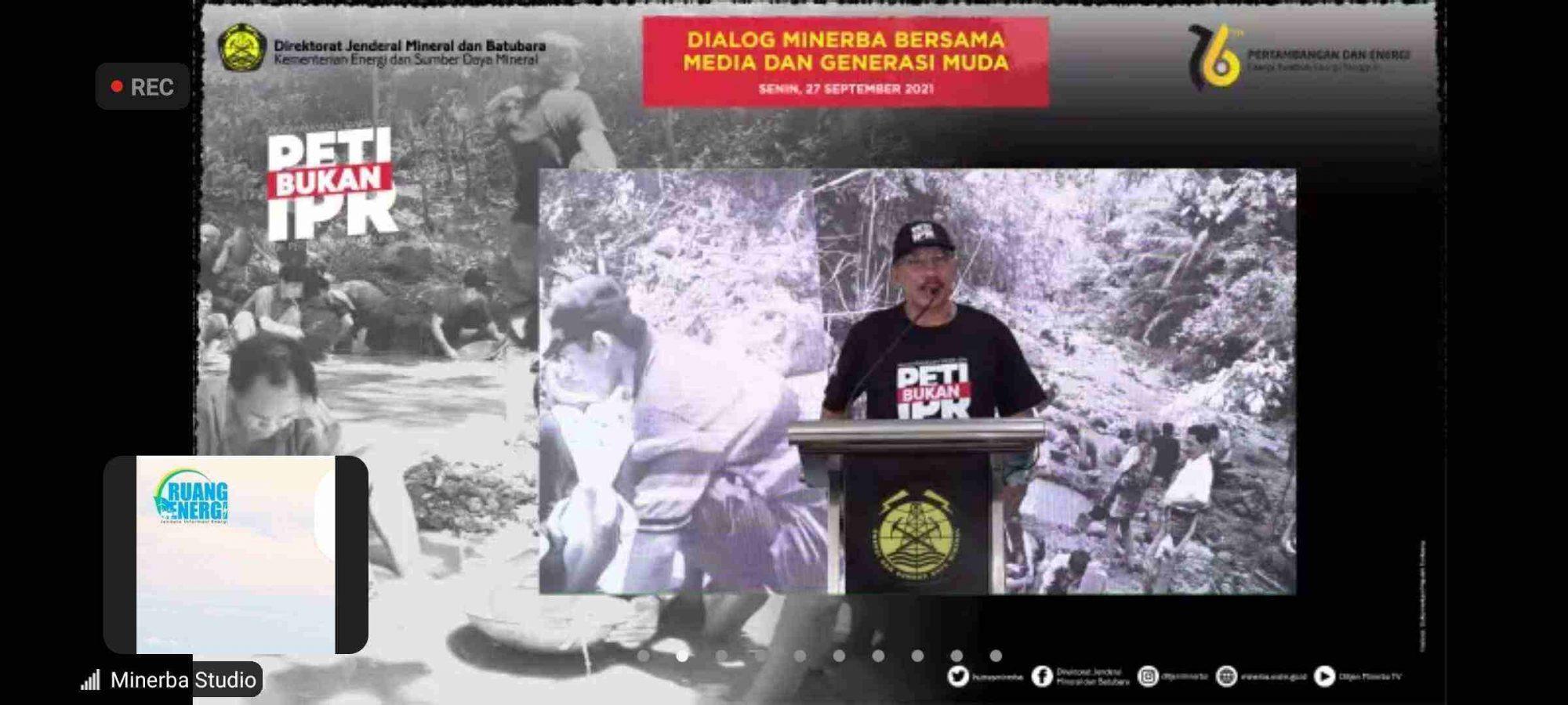 Dirjen Minerba Kementerian ESDM Ridwan Djamaluddin